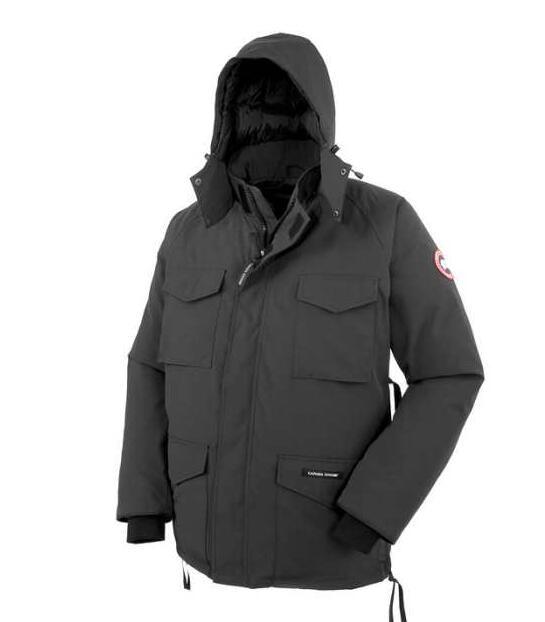 秋冬着心地抜群のカナダグース、Canada gooseの防風性、保温性、防水性に優れる男性ダウンジャケットコート.