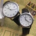 今買い◎得 2015 ヴァシュロン?コンスタンタン サファイヤクリスタル風防 スイス クオーツ 316ステンレス 恋人腕時計 2色可選