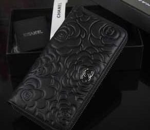 機能性のある  chanel シャネル 満点 財布 2色可選.