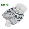 秋冬セールスサービスのモンクレール、Monclerのお洒落なポンポン付きのレデイース/女性/ガール用のニット帽子/キャップ.