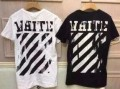 春夏大流行のOff-White、オフホワイトの男女兼用半袖 Tシャツ.