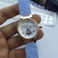 スタイリッシュな印象 2017春夏 多色選択可 ミネラルガラス ルイ ヴィトン 輸入クオーツムーブメント 女性用腕時計