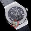大特価 2017春夏 HUBLOT 3色可選 透かし彫りムーブメント 男性用腕時計 大人っぼい