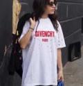 2色可選 男女兼用 2017春夏 穴傷 半袖Tシャツ ★安心★追跡付 GIVENCHY ジバンシー