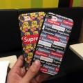 春夏2色可選 シュプリーム SUPREME2017 超激得100%新品 iPhone6 plus/6s plus ケース カバー