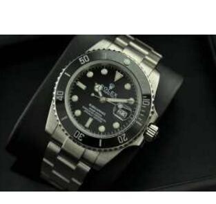 プレゼントにロレックス ROLEX  16610 サブマリーナデイト 定番モデル 自動巻き腕時計