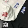 SUPREMEシュプリーム偽物The North Face Mountain Tee Box 半袖tシャツ 男女兼用半袖tシャツ ブラック ホワイト2色