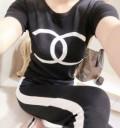 上下セット人気爆発新作登場スーパー コピー 2018話題となる 2色可選Tシャツ/半袖 ブランド コピー