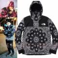 注目のポイント ジャケット パーカ セーター コート14FW TNF Bandana 3色可選 シュプリーム SUPREME 人気新品*超特価