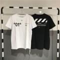 2018年春夏新作Off-Whiteオフホワイトtシャツ偽物メンズクルーネック半袖TシャツVIPセールブラック、ホワイト