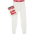 SupremeHanes Thermal Pant 2色選択可 スエットパンツ 保温性を発揮する 高評価人気品