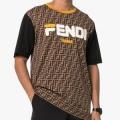 国内発送 FENDI Fendi fix Tシャツ マルチカラー41466396フェンディ コピー通気性アンダーシャツ定番Tシャツ