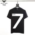 コスパ最強新作におすすめ 2色可選  Tシャツ/ティーシャツ 2019SSコレクションに新着 アルマーニ ARMANI