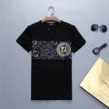 限定セール人気セール存在感十分シンプル上品半袖tシャツ大きいサイズ男性用ホワイトブラックFENDIフェンディコピー服