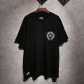 新作夏の優秀アイテム 半袖Tシャツ超おすすめ 2色可選 CHROME HEARTS クロムハーツ春夏新作2019流行り