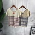 品質保証新作登場レディースTシャツ半袖かわいいファッションピンクブルースーパー コピーブランド コピー tシャツ コピー