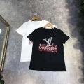 ヴィトン t シャツ コピーLOUIS VUITTON新作入荷品質保証定番プリント半袖Tシャツアメカジホワイトブラック