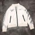 赤字超特価最新作レイヤードジャケットショート丈Off-Whiteオフホワイト コピー 通販コンパクトシルエットホワイト