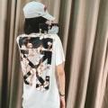 驚きの破格値得価上品可愛い抜け感大人カジュアルOff-Whiteオフホワイト tシャツ 通販おしゃれ万能シャツ