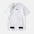 オフホワイト コピー 人気Off-White驚きの破格値爆買い乾きやすい素材tシャツ半袖紳士服ホワイトブラック赤色