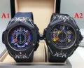 品質保証大人気便利個性的な腕時計便利さ4色可選男性用Hublotウブロ コピー 激安カレンダー付きファッション