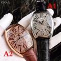 品質保証新作魅力的な腕時計ブラックブラウンFRANCK MULLERフランクミュラー コピーコンフォートレザーベルト
