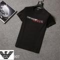 爆買い品質保証仕事用普段着年中tシャツ綿100%最高の着心地ダークグレー黒白ARMANIアルマーニ t シャツ 偽物
