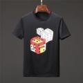 フェンディ tシャツ コピーFENDI限定セール新品涼しい着心地上質コットンtシャツ毎年定番ブラックホワイトメンズ
