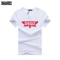 19年春夏トレンドアイテムを先取り  カジュアルもある絶妙な雰囲気  半袖Tシャツ  ディースクエアード DSQUARED2  2色可選
