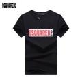 夏に爆発的な人気  ディースクエアード DSQUARED2  半袖Tシャツ  19年春夏のトレンド激安  2色可選  きれいめな印象で着こなし