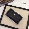 最新のブーム当確のコレクション新作 アルマーニ 財布 コピー ジップ長財布 メンズ ブラック 大容量 ロゴ入り 通勤通学