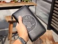 ヴェルサーチ 財布 メンズ ジッパー ロングウォレット 2019SSのトレンド新作 VERSACE ブラック エンボス コピー 激安