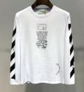 長袖Tシャツ 2色可選 2019トレンド感満載なアイテム リラックスした雰囲気に Off-White オフホワイト