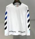 長袖Tシャツ 2色可選 新品は継続して大人気 2019春夏トレンドカラー  Off-White オフホワイト