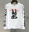 Off-White オフホワイト 長袖Tシャツ 2色可選 2019年春夏ファッションに最も 今や定番アイテム好評品