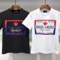 春夏欠かせない定番アイテム 半袖Tシャツ 2019年の流行る美品 2色可選 ディースクエアード 今すぐ買えちゃう!新着 DSQUARED2 大人のため上品