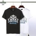 半袖Tシャツ  2019春夏の爽やかトレンド フェンディ FENDI 大人っぽいスタイルが完成 2色可選 大人っぽい雰囲気に 大人っぽかわいい