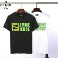 おすすめファション2019人気カラー 半袖Tシャツ 春夏爽やかな新作が流行り フェンディ FENDI 人気の高さ激安通販2色可選 春夏新作を一気見せ
