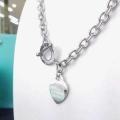 季節感もプラス2019新作 大人っぽいスタイルが完成 ティファニー Tiffany&Co ネックレス