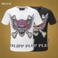 2019年春夏シーズンの人気 PHILIPP PLEIN Tシャツ/半袖  2色可選顧客セール大特価 フィリッププレイン  抜け感のあるスタイルが完成