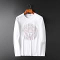 長袖Tシャツ 2色可選 ヴェルサーチ VERSACE 秋を感じるスタイルを楽しむ 2019秋冬におしゃれな着こなし