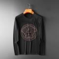 季節感溢れる秋らしいコーデ 2019秋冬の必需品 ヴェルサーチ VERSACE 長袖Tシャツ 2色可選