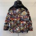 メンズ ダウンジャケット 上品な秋冬コーデに仕上げる モンクレール 秋のコーデで使いやすい  MONCLER 遊び心たっぷり秋冬コーデ
