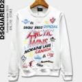 秋冬ファッションのマストアイテム 2色可選 DSQUARED2 ディースクエアード 秋冬ファッションの幅が広がる プルオーバーパーカー