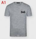 大胆なトレンド感を楽しむ 多色可選 半袖Tシャツ ドルチェ&ガッバーナ Dolce&Gabbana 春夏のお出かけを軽快に
