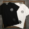 2色可選 コーデに新しさが混在する  半袖Tシャツ クロムハーツ シックスタイリングに挑戦  CHROME HEARTS