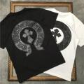2色可選 トレンド感を取り入れる 半袖Tシャツ ナチュラルコーデのコツ クロムハーツ CHROME HEARTS