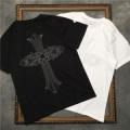 2色可選ラフさとおしゃれを両立 半袖Tシャツ クロムハーツ CHROME HEARTS 春夏トレンドの取り入れる