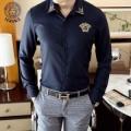 2色可選 ヴェルサーチ VERSACE オフィスにも着まわしOK シャツ  お洒落さんで人気急上昇中