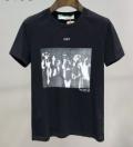 Off-White 軽やかなトレンドに合う  2色可選  オフホワイト 上品なスタイルを楽しむ 半袖Tシャツ